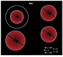 Opinión sobre Whirlpool AKT 8130 BA Integrado Cerámico Negro hobs - Placa (Integrado, Cerámico, Vidrio, Negro, Tocar, Frente)