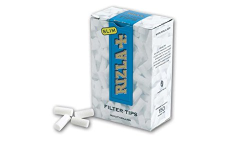 (RIZLA Rizla Filter Tips Slim 10 Boxes 1500 Tips Loose Cigarette Roll Your Own)