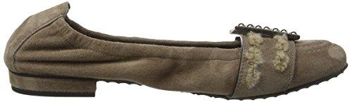 Malu pistola punta cedro marrone 504 con Kennel Ballerine Und Schmenger chiusa 6EC41q