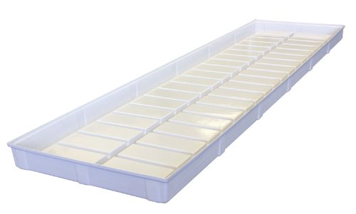 Botanicare - 92''x24''x4'' White Low Tide Tray by Botanicare