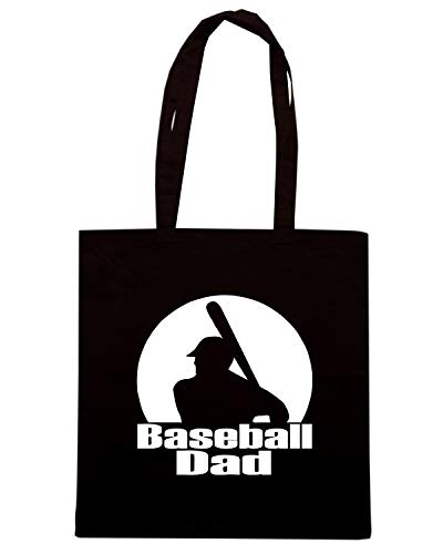 Speed Shirt Borsa Shopper Nera FUN0701 BASEBALL DAD ADHESIVE 69388