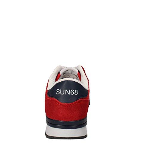 Rosso 68 Camoscio SUN Uomo Tessuto Sneaker d6wwXqU
