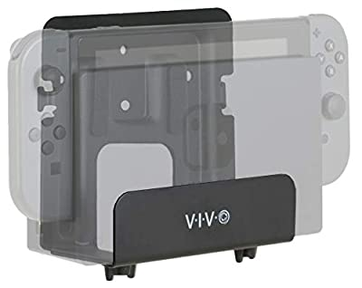 VIVO Black Adjustable Streaming Media Player Wall Mounting Bracket Designed for Nintendo Switch, Apple TV, Roku, Fire TV | Hardware Included (MOUNT-ALL02)