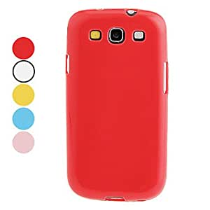 Jelly Color TPU Hard Case for Samsung Galaxy S3 I9300 (Assorted Colors) --- COLOR:Pink