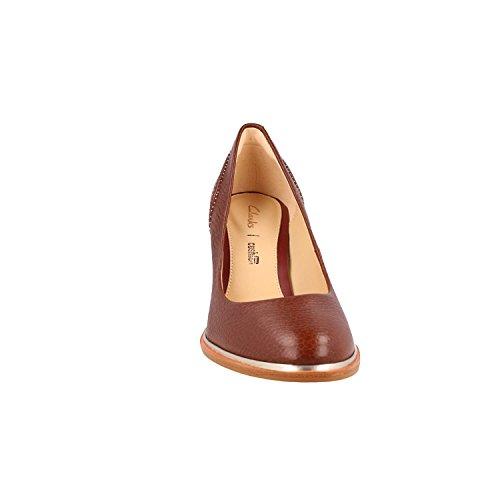 Marron Ellis Chaussures 26131023 Brown Edith Clarks zFXwqT