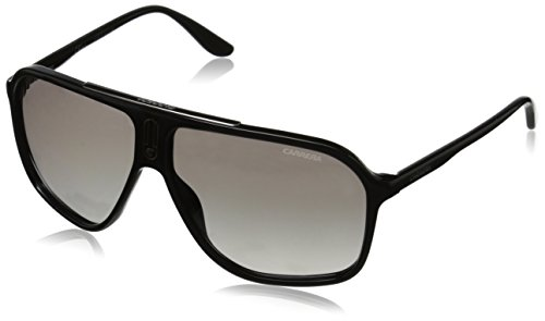 Carrera Ca6016s Rectangular, Shiny Black, 62 ()