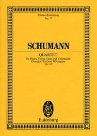 Quat.Piano Op.47 Mib Maj. - Cond.Poche