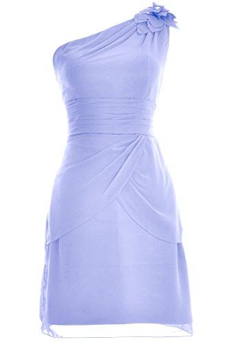 Himmelblau Shoulder MACloth Bridesmaid Cocktail Formal Dress Gown Women Evening One Short pHffvPq
