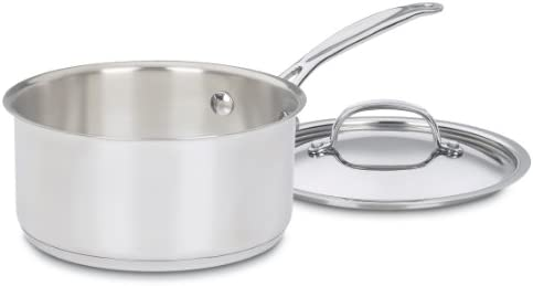 Cuisinart 719-18 Chef s Classic Stainless 2-Quart Saucepan with Cover