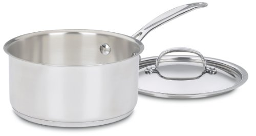 f's Classic Stainless 2-Quart Saucepan with Cover ()