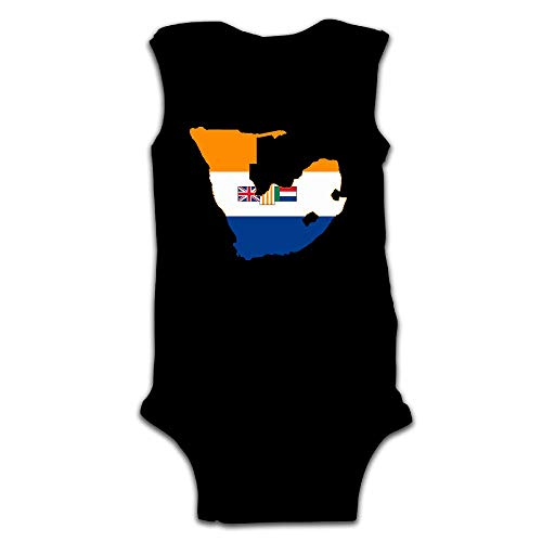 MMSSsJQ6 South West Africa Infant Baby Boys Girls Crawling Clothes Sleeveless Onesie Romper Jumpsuit Black by MMSSsJQ6