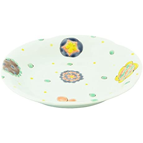 Kutani Yaki Kamon 8 3inch Large Bowl Porcelain Made In Japan