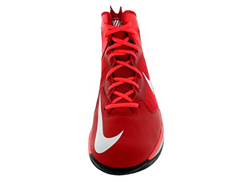 Nike Prime Hype Lsr DF Herren Basketballschuhe Unvrsty Rd Weiß Lsr Hype ... 7b7a52