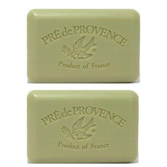 Pre de Provence Green Tea Soap - Pack of 2 Bars