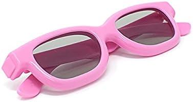 Ultra Rosa 2 Par de Gafas 3D Pasivo para Niños para Uso con Todas ...