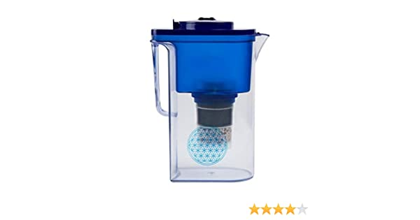 Filtro de agua AcalaQuell® Wassetto | Azul | Jarra con filtro de ...
