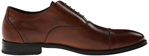 Stacy Adams Mens Kordell Cap-toe Lace-up Oxford Cognac
