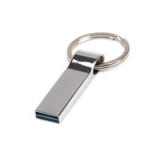 BullkerDirect Portable Mini Keyring USB 2.0 Flash Drive Memory Stick Thumb Drive Data Storage Jump Drive Business for Students,Office,Company - 128mb