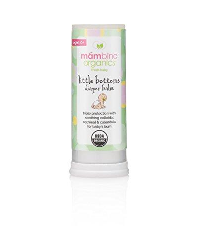 Bottom Cream (Mambino Organics Little Bottoms Diaper Balm, Calendula - Oatmeal, 0.63 Ounces)