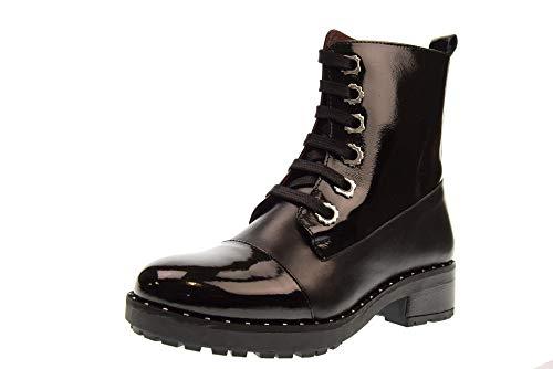 Apepazza Amphibious Woman Shoes BST01 / Vitello-VRN Beverly Size 41 Black