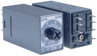 IDEC GT5Y-4SN1A100 TIMERS, ON DELAY, 4PDT, 3A, 100V to 120V, PLUG IN by Idec