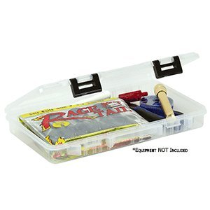 Plano 370710 ProLatch 3700 Size Open Compartments Stowaway Boxes, Clear (Plano Stowaway 3700 Prolatch)