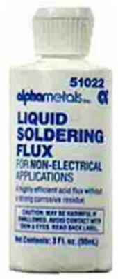 (ALPHA METALS AM51022 Acid LIQ Flux, 3 oz by Alpha)