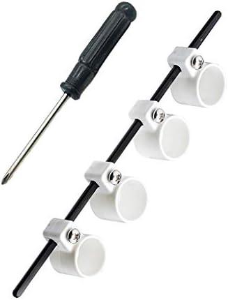Tools & Home Improvement XUANOU Guitar Adjustable Finger Expander Guitar Training Span Trainer Finger Lute Size (White Standard Plus Size)