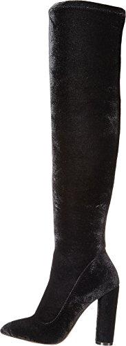 Women's Sylvana Aldo Velvet Boot Black pqvBUwAS