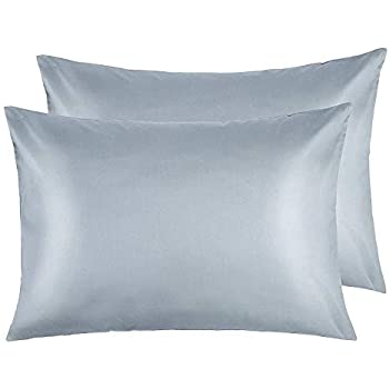 Amazon Com Dreamhome Satin Standard Queen Pillowcase