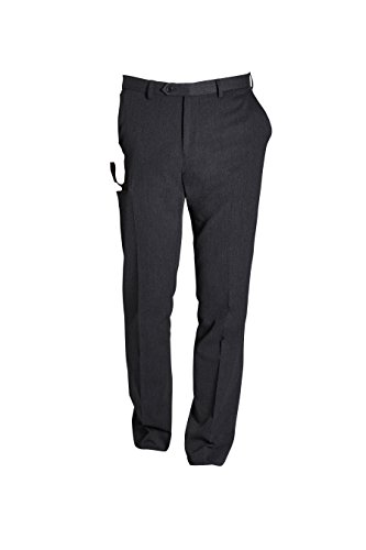 next Homme Pantalon sans pinces Gris 32 / Regular - Slim Fit