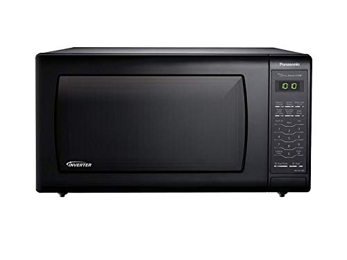 (Panasonic NN-SN736B Black 1.6 Cu. Ft. Countertop Microwave Oven with Inverter Technology)
