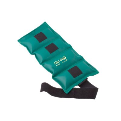 The Original Cuff® Ankle and Wrist Weight - 2 kg - Green by Fabrication