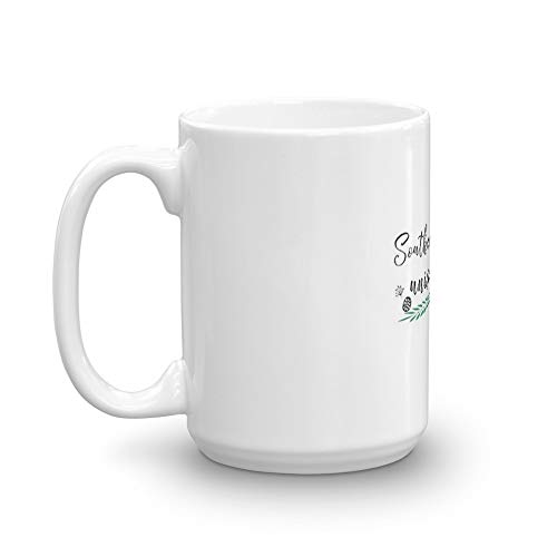 University and College Doodle Style 1 P2 Southern Methodist University 15 Oz White Ceramic
