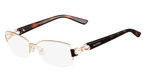 VALENTINO Eyeglasses V2106 780 Rose Gold 53MM (Valentino Optical Frames)
