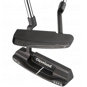 Cleveland Golf Classic Collection Black Platinum 1.0 Putter – Blade (Right Hand, Steel, 35 inches), Outdoor Stuffs
