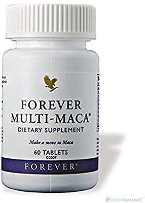 Forever Multi-Maca Dietary Supplement, Pack of 2 (120 Tablets)