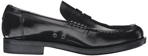 Calvin Klein Ck Jeans Uomo Yonah Soft Brush Off Mocassino Slip-on Nero