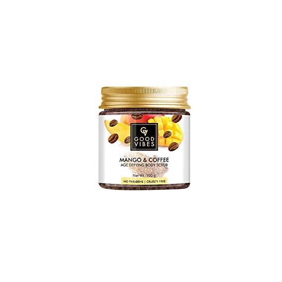 Good Vibes Grapefruit and Coffee Skin Toning Body Scrub (100 gm)