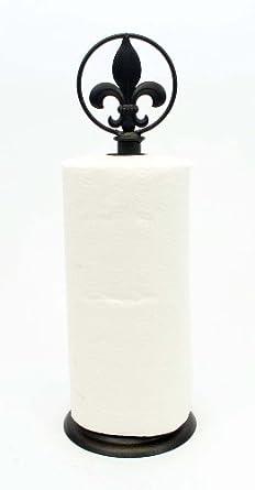 Amazoncom Fleur De Lis Paper Towel Holder 17h Industrial Scientific