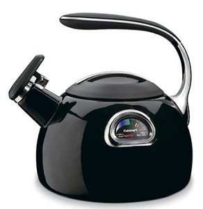Cuisinart PerfecTemp Tea Kettle - Temperature Gauge - Black