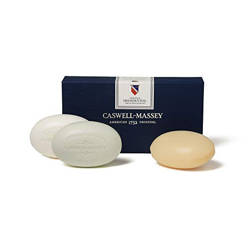 (Caswell-Massey Heritage Presidential Three-Soap Set, 5.8 Ounce)
