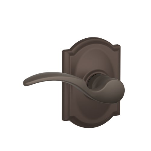 Schlage F10 STA 613 CAM Camelot Collection St. Annes Passage Lever, Oil Rubbed Bronze