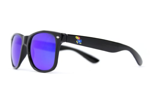 Kansas Jayhawks Black Sunglasses - 9