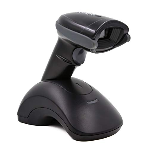 TEEMI Bluetooth Barcode Scanner with USB Cradle, 1D 2D QR USB Imager, Wireless, Read Screen Codes, Handsfree Scanning