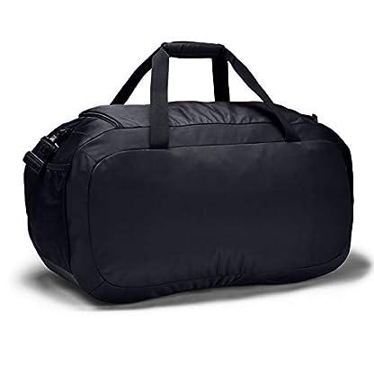 Under Armour Undeniable Duffel 4.0 LG, geräumige Sporttasche, wasserabweisende Umhängetasche Unisex, Schwarz (Black/Black/Silver (001)), Einheitsgröße 2