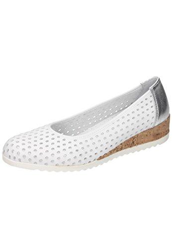 Weiß 3 Damen slipper 942200 Comfortabel q0wXEX