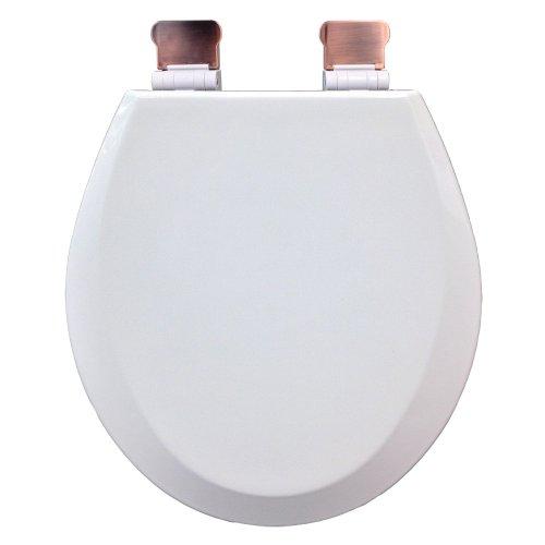 Comfort Seats C3B4R300AMOB Round Premium Molded Wood Toilet