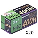 Pro 400 H Color Negative Film 120 Rollfilm 20-roll Pack