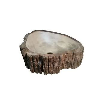 Tree Trunk Bathroom Vessel Sink Amazon Com